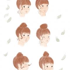 Stefanie-Scharl-Illustration-Kinderbuch-Mädchen-Character